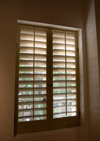 Plantation shutters confident choice for Indoor wood shutters white